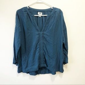 Old Navy 3/4 Sleeve Top | Size Small
